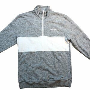 CHUBBIES Made In USA Mens Half Zip Pullover Sweate